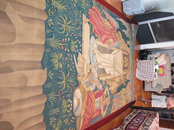 tapestry restoration, TAPESTRY RESTORATION – SUNLIGHT FINE RUG CARE