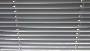 Blinds to be cleaned